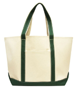 16 ounce Canvas Boater Tote